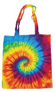 Colortone T9223 - Multi Color Tie Dye Tote Bag