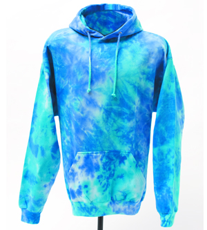 Colortone T8778Y - Multi Color Tie Dye Youth Hood
