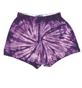 Colortone T4000 - Spider Tie Dye Soffe Shorts