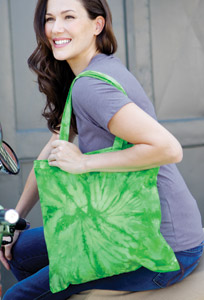 Colortone T9222 - Spider Tie Dye Tote Bag