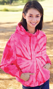 Colortone T8777Y - Spider Tie Dye Youth Hood