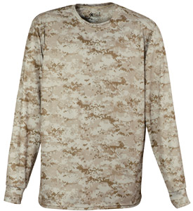 Eagle USA X3247 - XDRI Performance Camo Long Sleeve ...