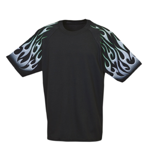 Everyday Life 400-34 - Flames Theme Tees