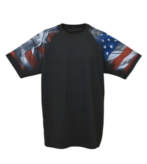Everyday Life 400-04 - Patriotic Theme Print Tees
