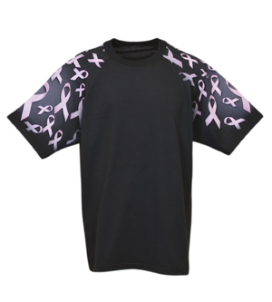 Everyday Life 400-49 - Ribbons Theme Print Tees