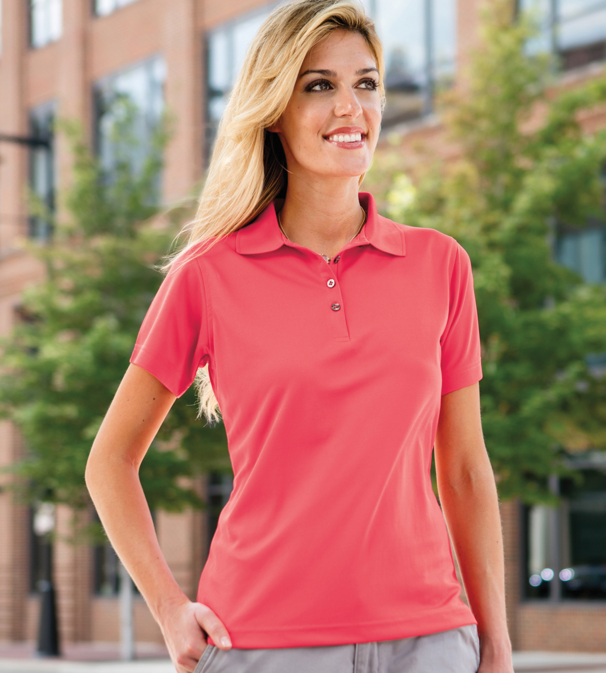 Paragon 104 - Womens Performance Mesh Polo