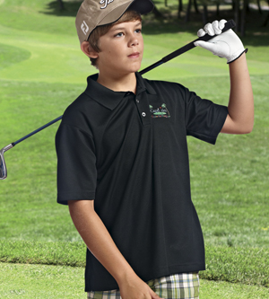 Paragon 108Y - Youth Performance Mesh Polo