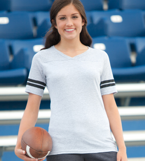 Soffe 239V - Football Tee