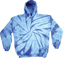 Colortone T8777 - Adult Tie Dye Hooded Pullover