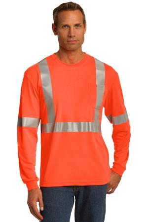 CornerStone ANSI 107 Class 2 Long Sleeve Safety T-Shirt....