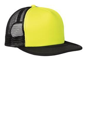District - Flat Bill Snapback Trucker Cap. DT624