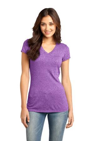 District - Juniors Microburn V-Neck Cap Sleeve Tee. ...