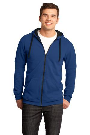 District - Young Mens Concert Fleece Full-Zip Hoodie....