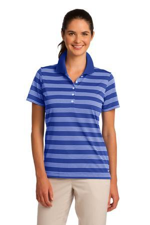 Nike Golf Ladies Dri-FIT Tech Stripe Polo. 578678