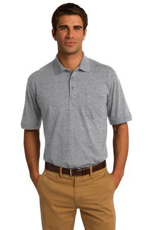 Port & Company 5.5-Ounce Jersey Knit Pocket Polo. KP55P