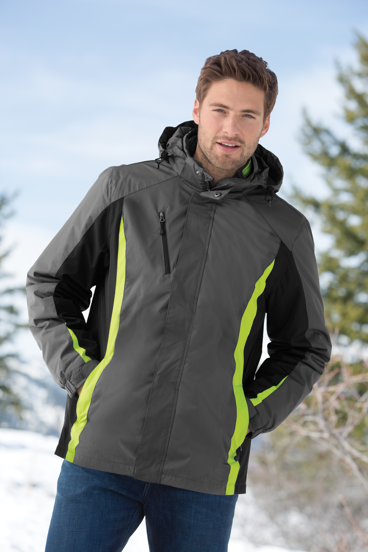 Port Authority® J321 - Colorblock 3-in-1 Jacket