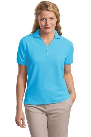 Port Authority® L448 - Ladies 100% Pima Cotton ...