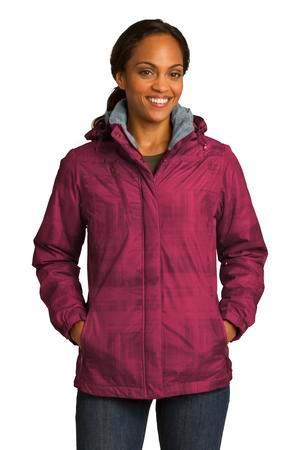 Port Authority® L320 - Ladies Brushstroke Print Insulated Jacket