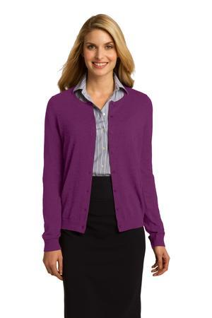 Port Authority® Ladies Cardigan. LSW287