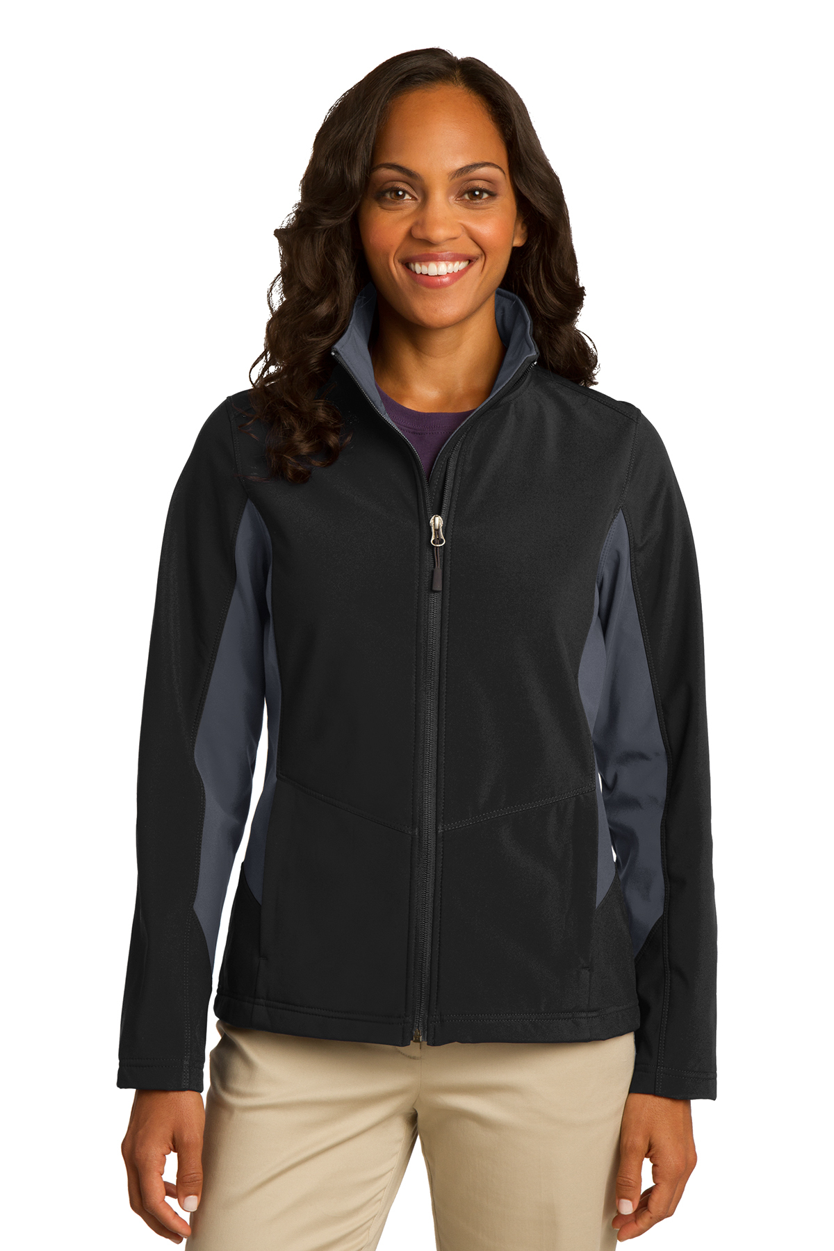 Port Authority® Ladies Core Colorblock Soft Shell ...