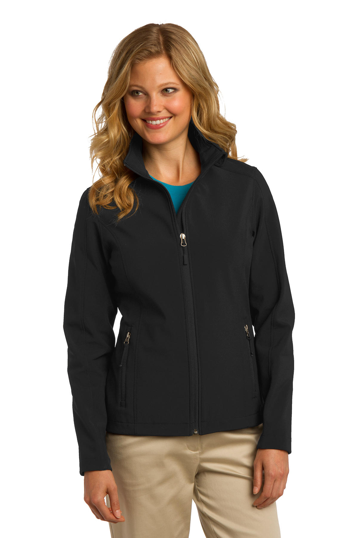 Port Authority® Ladies Core Soft Shell Jacket. L317