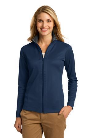 Port Authority® L805 - Ladies Heavyweight Vertical Texture Full-Zip Jacket