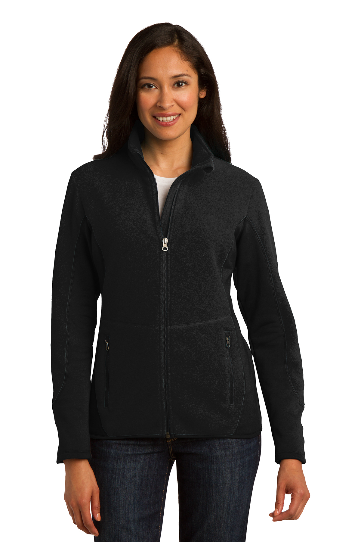 Port Authority® Ladies R-Tek Pro Fleece Full-Zip ...