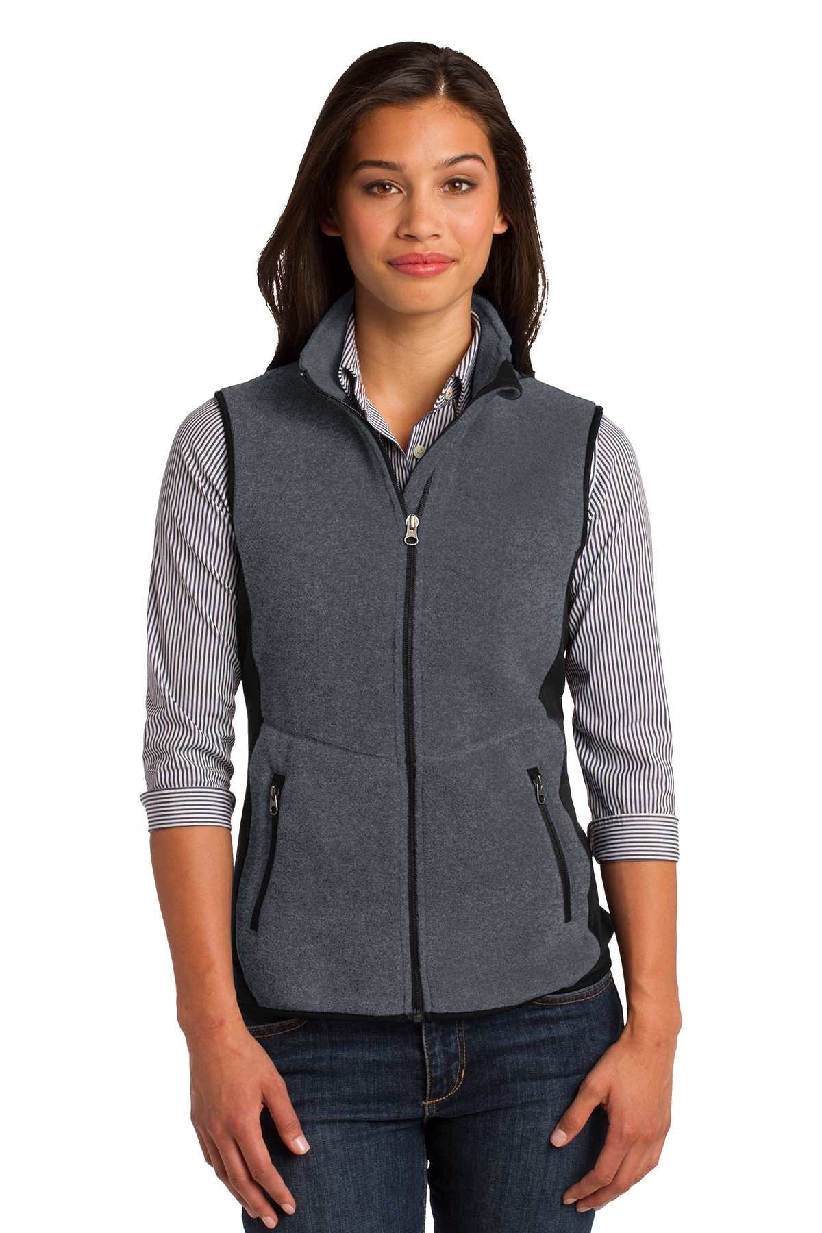 Port Authority® L228 - Ladies R-Tek Pro Fleece Full-Zip Vest
