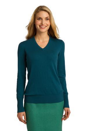 Port Authority® LSW285 - Ladies V-Neck Sweater