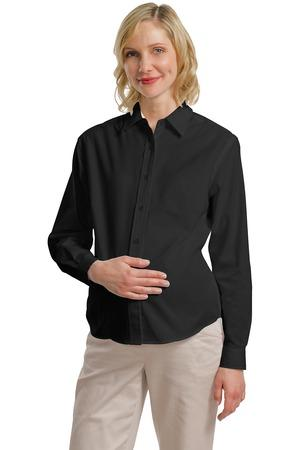 Port Authority® - Maternity Long Sleeve Easy Care ...