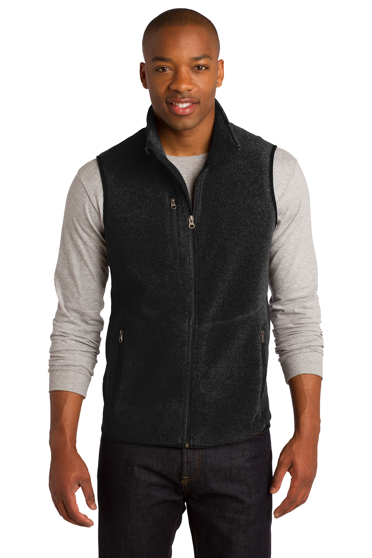 Port Authority® R-Tek Pro Fleece Full-Zip Vest. ...