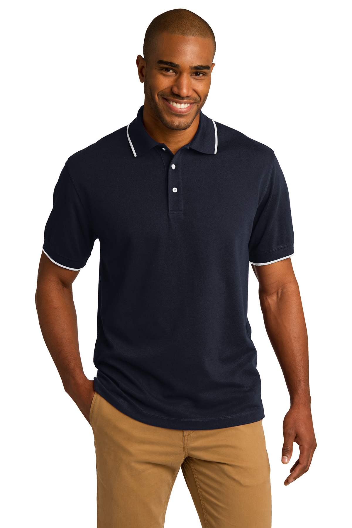 Port Authority® K454 - Rapid Dry Tipped Polo