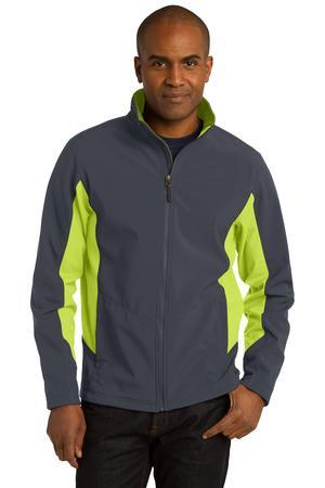 Port Authority® Tall Core Colorblock Soft Shell ...