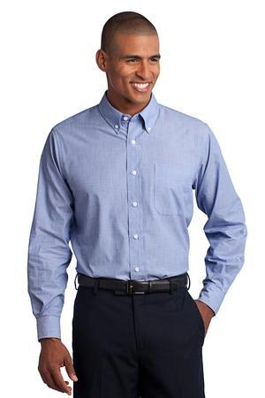 Port Authority® Tall Crosshatch Easy Care Shirt....