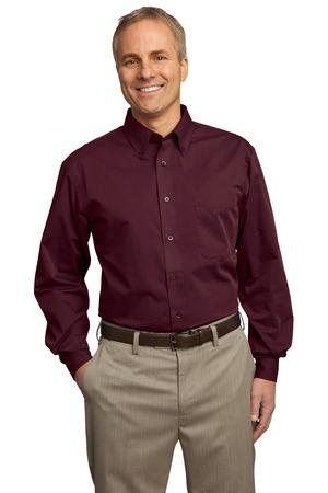 Port Authority® Tall Tonal Pattern Easy Care Shirt....