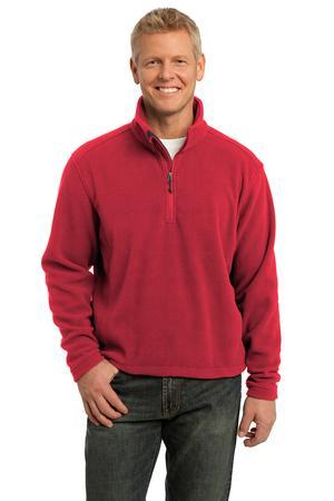 Port Authority® Tall Value Fleece 1/4-Zip Pullover....