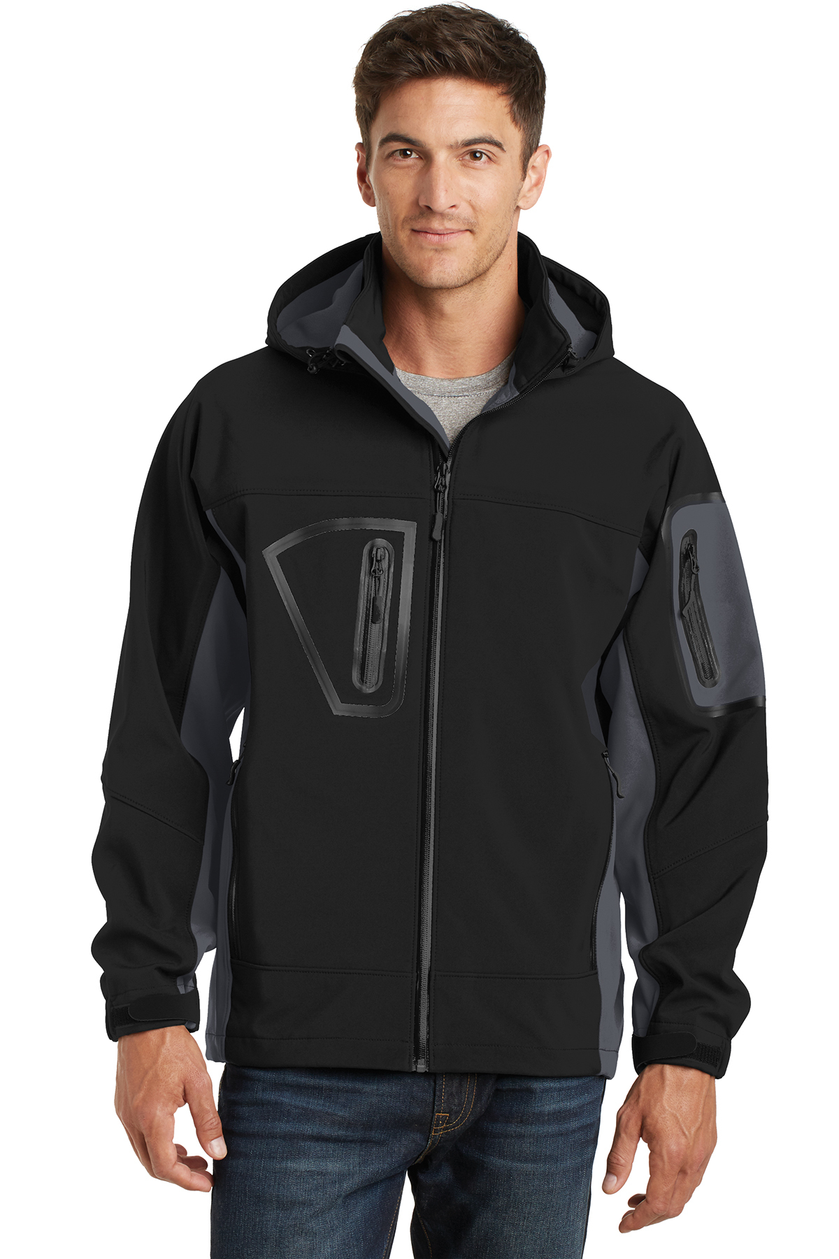Port Authority® Tall Waterproof Soft Shell Jacket....