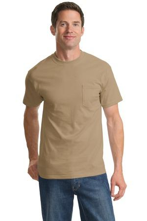 Port & Company - Essential T-shirt with Pocket. PC61PCO