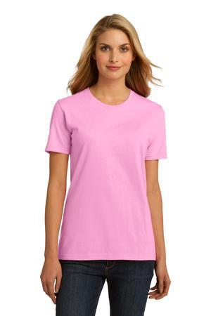Port & Company Ladies Essential 100% Organic Ring Spun Cotton T-Shirt. LPC150ORG