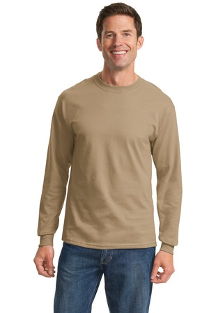 Port & Company - Long Sleeve Essential T-Shirt. PC61LSCO
