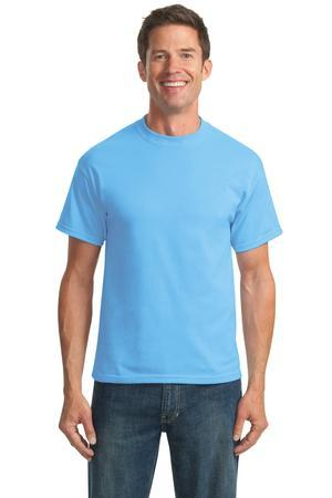 Port & Company Tall 50/50 Cotton/Poly T-Shirts. PC55T
