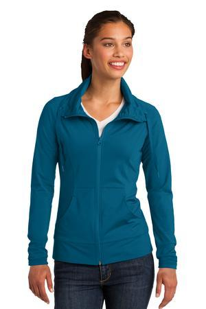 Sport-Tek Ladies Sport-Wick Stretch Full-Zip Jacket....