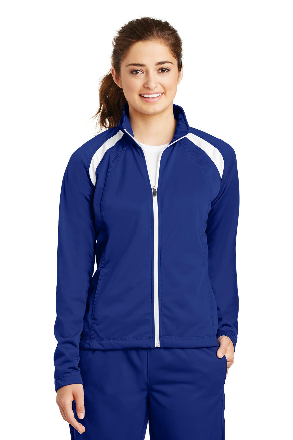 Sport-Tek - Ladies Tricot Track Jacket. LST90