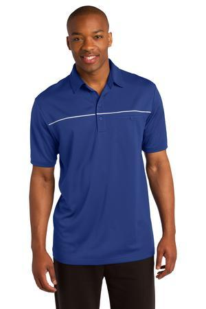 Sport-Tek PosiCharge Micro-Mesh Piped Polo. ST686