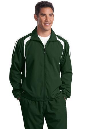 Sport-Tek TJST60 加大码 撞色插肩袖外套