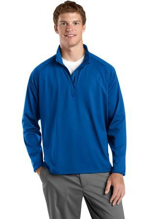 Sport-Tek Tall Sport-Wick Stretch 1/2-Zip Pullover. ...