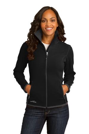 Eddie Bauer Ladies Full-Zip Vertical Fleece Jacket. EB223