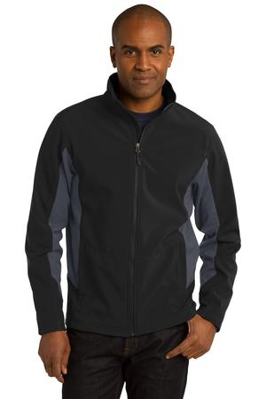 Port Authority® TLJ318 - Tall Core Colorblock Soft Shell Jacket