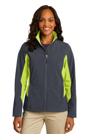 Port Authority® Ladies Core Colorblock Soft Shell Jacket. L318
