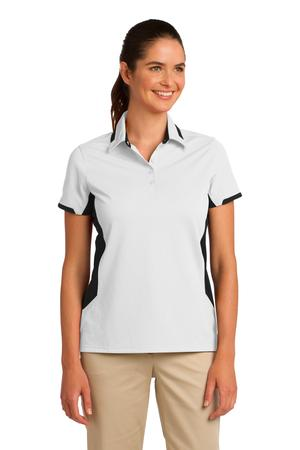Port Authority® L524 - Ladies Dry Zone Colorblock Ottoman Polo